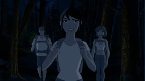 Jessica Cruz-A Calming Nighttime Stroll Through The Trees!