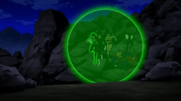 Justice League-Emerald-Coated Protection!