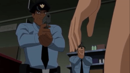 Police-Freeze, Streaker!
