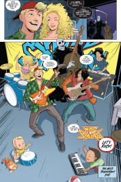 Bill & Ted Go To Hell #4-Famliy Jam Session!