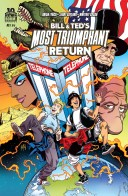 Bill & Ted's Most Triumphant Return #1 Cover!