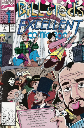 Excellent Comic #1 Cover!