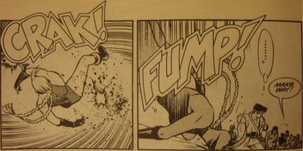 Street Fighter II #1-Cammy's Been Cannonballed!