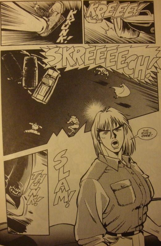 Street Fighter II #1-Your Joyride's Over, Guys!