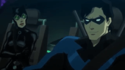 Nightwing-Car Chat With The Cat!