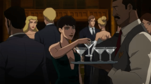 Selina Kyle-Mingling With The Sophisticates!