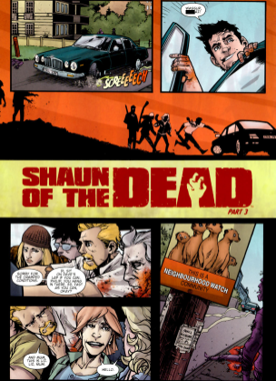 Shaun Of The Dead #3-And We're Off!