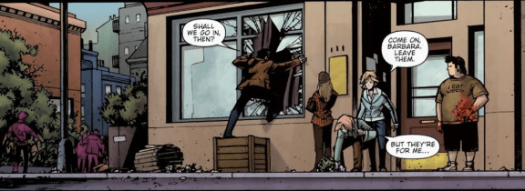 Shaun Of The Dead #4-Let's Get Inside!
