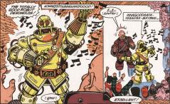 Excellent Comic #7-Robo-De Nomolos To The Rescue!