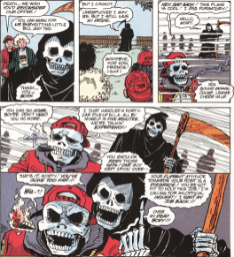 Excellent Comic #9-Don't Be A Jerk-Tacular Spectre Of Death!