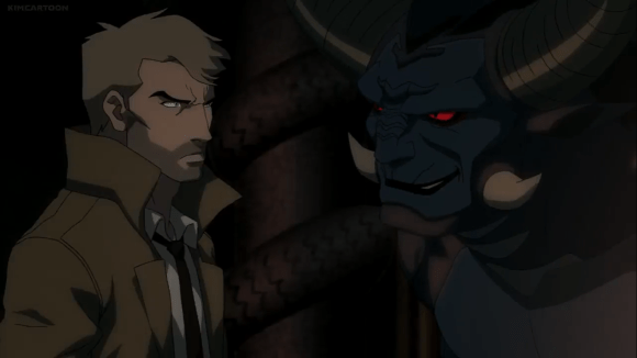 John Constantine-You're The Bane Of My Existance, Nergal!.png