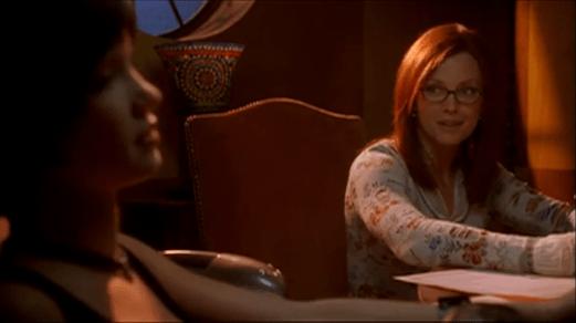 Barbara Gordon-No Need To Worry About Dinah!