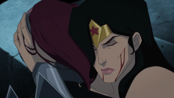 Wonder Woman-I Won't Let You Look!