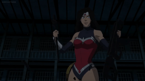 Wonder Woman-Poor Choice, You Punks!