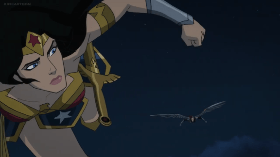 Wonder Woman-Time For Another Aerial Dance!
