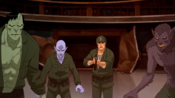 Sgt. Rock-Me & My Creature Commandos!
