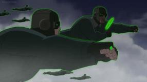 John Stewart-We Have An Inbound Enemy, Hal!