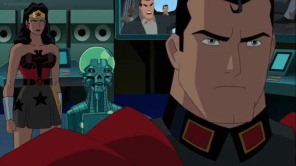 Superman-I'm Not Invading America, Brainiac!