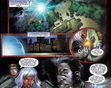 X-Men Movie Adaptation-Get Me Up There, Storm!