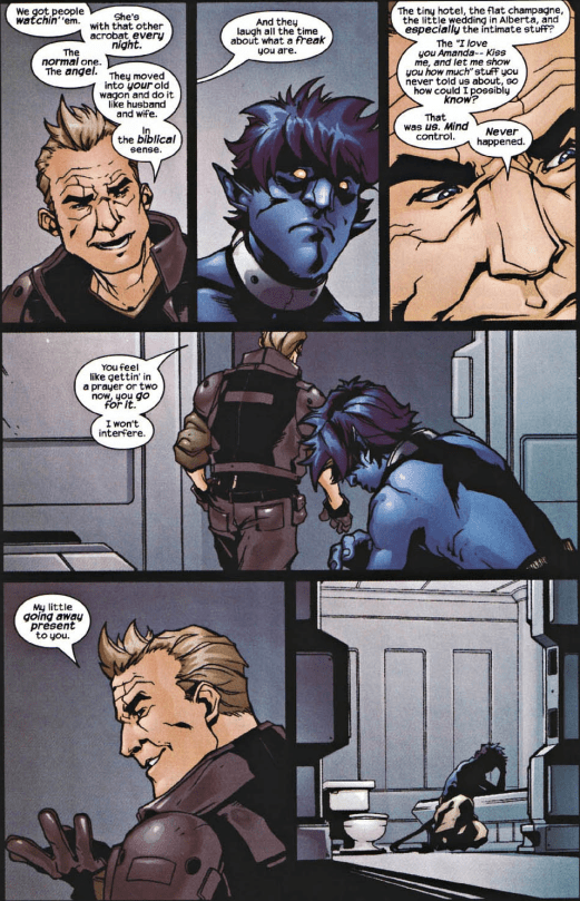 X2 Prequel Nightcrawler-Emotionally Broken!
