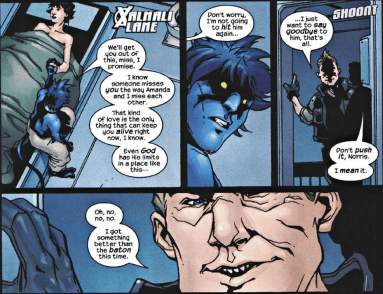 X2 Prequel Nightcrawler-Incoming Pain Within Recovery!