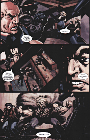 X2 Prequel Wolverine-Surrounded By Stryker's Squad!
