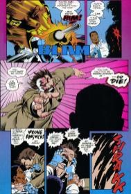 Darkman #1-Fierce Waterfront Fight!