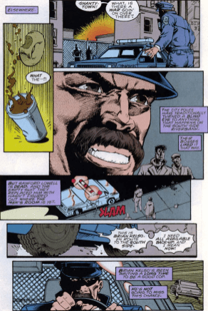 Darkman #6-No More Blind Eyes Upon The Homeless!
