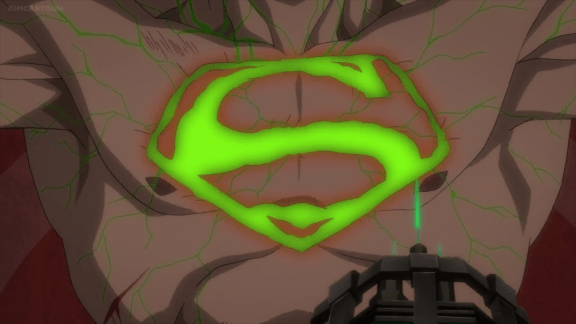 Superman-Weakened With A Tainted Symbol!