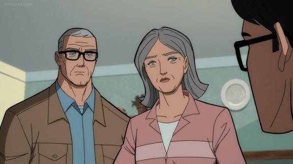 Jonathan & Martha Kent-The Choice Is Yours, Clark!