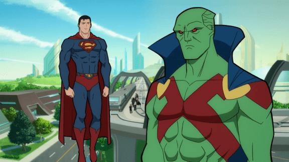 Martian Manhunter-Glad To Help, Superman!