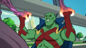 Martian Manhunter-Losing My Grip Within This Grapple!