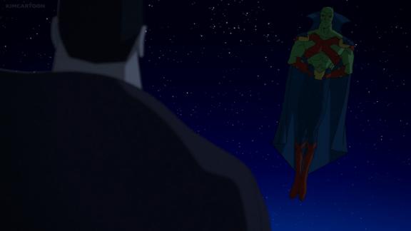 Martian Manhunter-We Need To Talk!