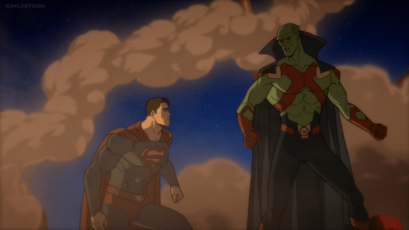 Martian Manhunter-Stop The Monster While I Get Lex!