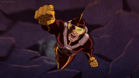 Adam Strange-Aerial Rage!