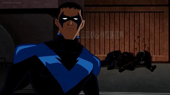 Nightwing-Left Behind!