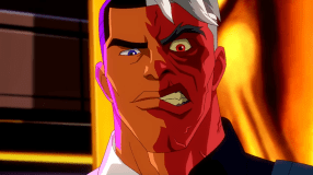 Two-Face-You're Nobody, Red Robin!