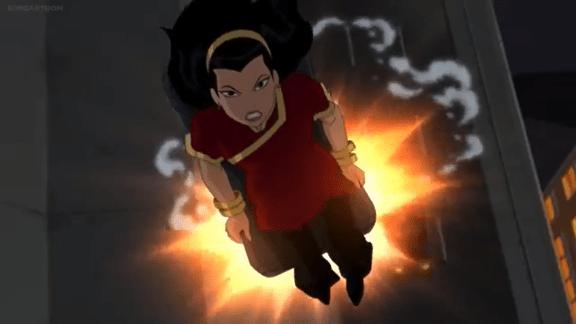 Lady Shiva-Blasting Off!