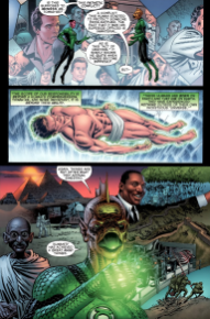 Hal Jordan Prequel-The Worthiness Of Humans!