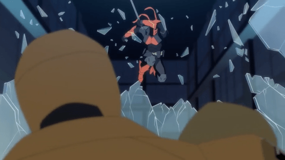 Deathstroke-Painful Rescue!