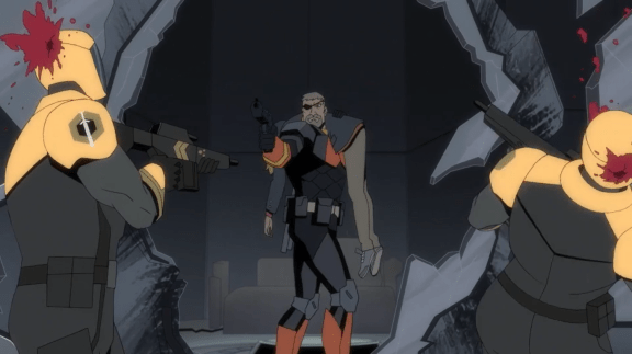 Deathstroke-Taking A Bloody Aim Towards Our Escape!