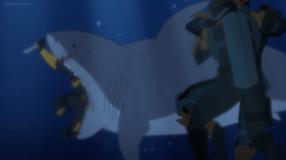 Deathstroke-You're Shark Bait!