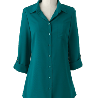 Tunic Ladies Shirt for Casual-Formal