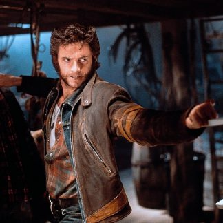 Original Leather Jacket of Hugh Jackman xmen Wolverine
