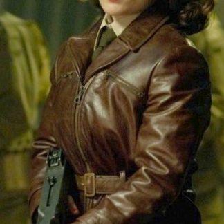 Original Leather Jacket of Peggy Carter Captain America