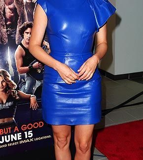 Leather Skirt of Julianne Hough
