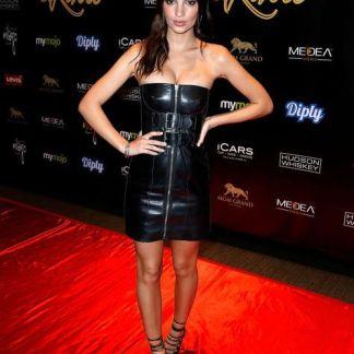 Leather Skirt of Kendall Jenner