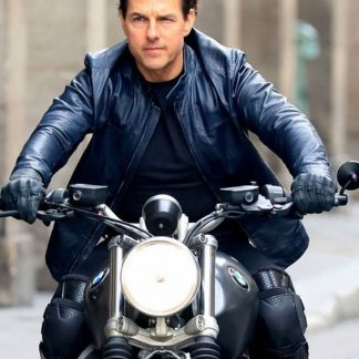 Original Leather Jacket of Tom Cruise Mission Impossible Film
