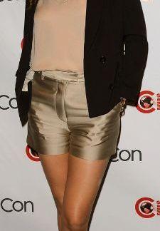 Womens Soft Shorts of Mila Kunis
