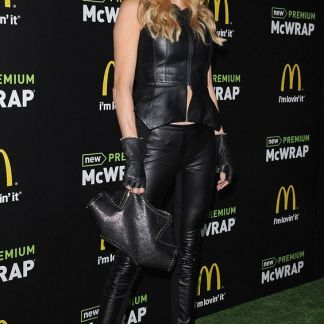 Black Fitted Top Womens Celebrity Dresses